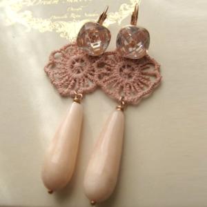 orecchini-rosa-FLOWERS-POWER